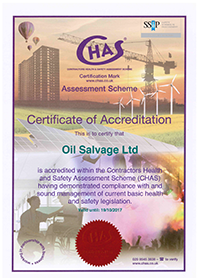 CHAS Certificate 2016